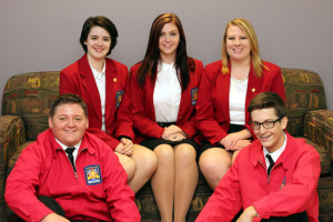 SkillsUSA State Officer Team